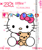 Pink Kitty 04 es el tema de pantalla