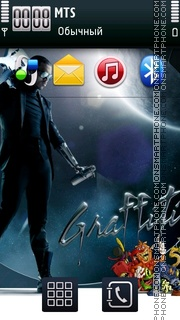 Graffiti Spray 01 theme screenshot
