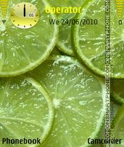 lime with coco es el tema de pantalla