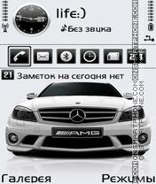 Mercedes by Afonya777 es el tema de pantalla