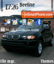 BMW X5 es el tema de pantalla