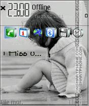I Miss You 13 es el tema de pantalla