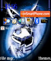 Playboy theme screenshot