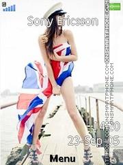 Britain girl es el tema de pantalla