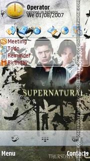 Supernatural es el tema de pantalla