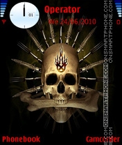 Cannibal-Skull theme screenshot
