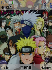Naruto Group theme screenshot