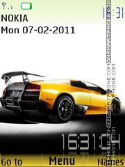 Lamborghini 03 theme screenshot