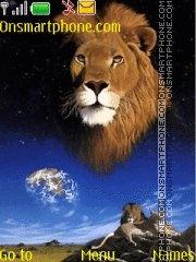 Lion is Sky theme screenshot