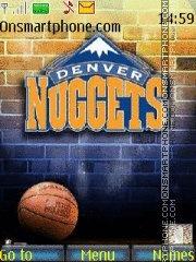 Denver Nuggets 01 es el tema de pantalla
