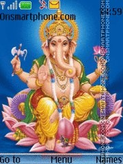 Ganesha 03 theme screenshot