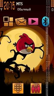 Angry Birds theme screenshot