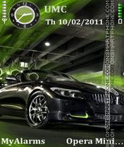 BMW green es el tema de pantalla
