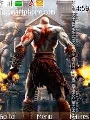 God Of War 07 es el tema de pantalla