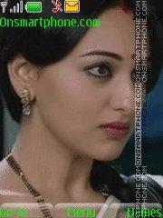 Sonakshi Sinha theme screenshot