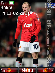 Wayne Rooney 02 es el tema de pantalla