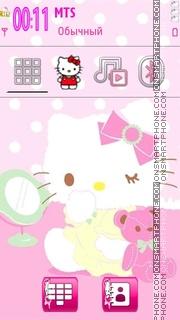 Hello Kitty 40 es el tema de pantalla