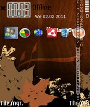 Blackberry 01 theme screenshot