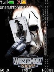 Sting Vs Undertaker theme screenshot