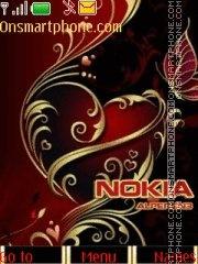 Nokia Gold es el tema de pantalla