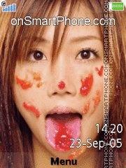 Ai Otsuka Love Jam es el tema de pantalla