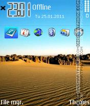 Desert 05 es el tema de pantalla