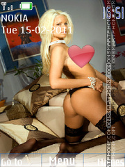 Maryse Wwe 01 theme screenshot