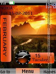 Swf Sunset theme screenshot