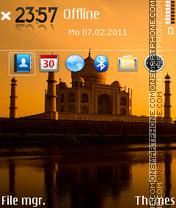 Taj mahal 05 es el tema de pantalla