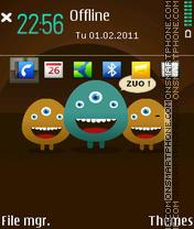 ZUO 01 es el tema de pantalla