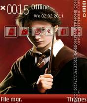 Harrypotter es el tema de pantalla