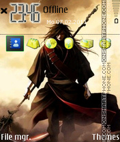 Uchiha Madara 03 theme screenshot