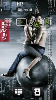 Levis Couple theme screenshot