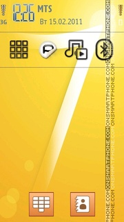 Windows 7 Sticker tema screenshot
