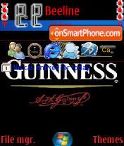 Guinness Beer theme screenshot