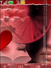 My valentine theme screenshot