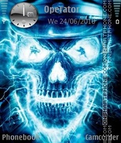 Blueskull theme screenshot