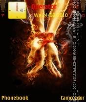 Fire hands es el tema de pantalla