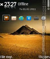 Pyramid 02 es el tema de pantalla