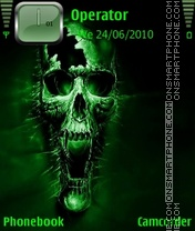 Nokia Theme - Greenskull theme screenshot