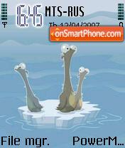 Animals theme screenshot