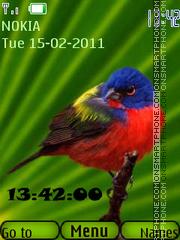 Birds 05 tema screenshot