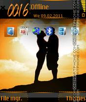 Love Silhouette es el tema de pantalla