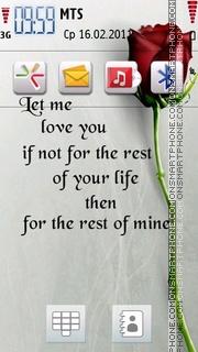 Your Life theme screenshot