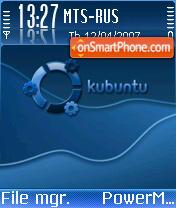 Kubuntu theme screenshot