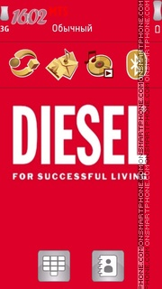Diesel theme screenshot