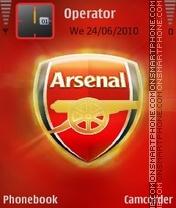 Arsenal fc es el tema de pantalla