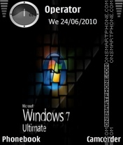 Windows 7 ultimate es el tema de pantalla