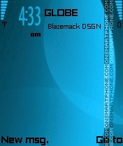 Omnia blue theme screenshot