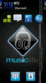 Music Life 02 es el tema de pantalla